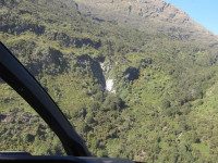 flying in to Wai Rata